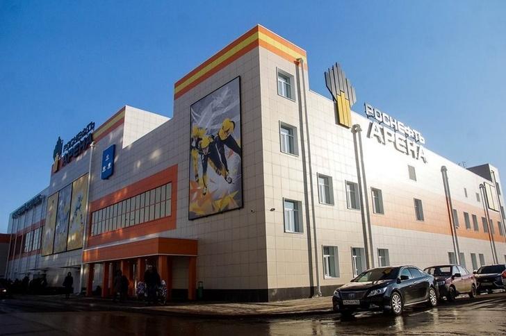 В Новокуйбышевске Самарской области открыт первый в городе ледовый дворец