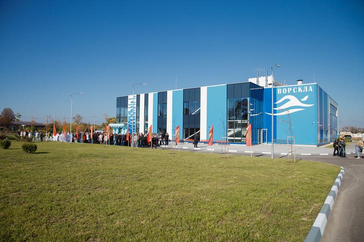 В Белгородской области открыт спортивный комплекс с плавательным бассейном
