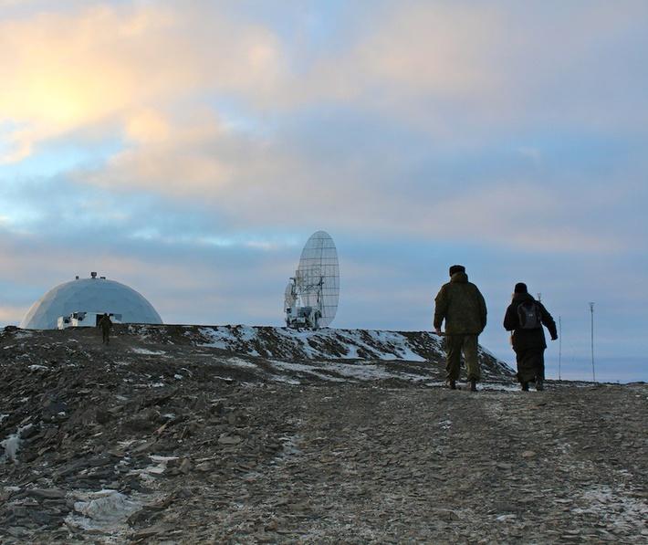 Новые РЛС ПВО на старых позициях