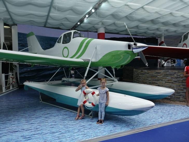 Ростех представил гидросамолет на базе модели Т-500