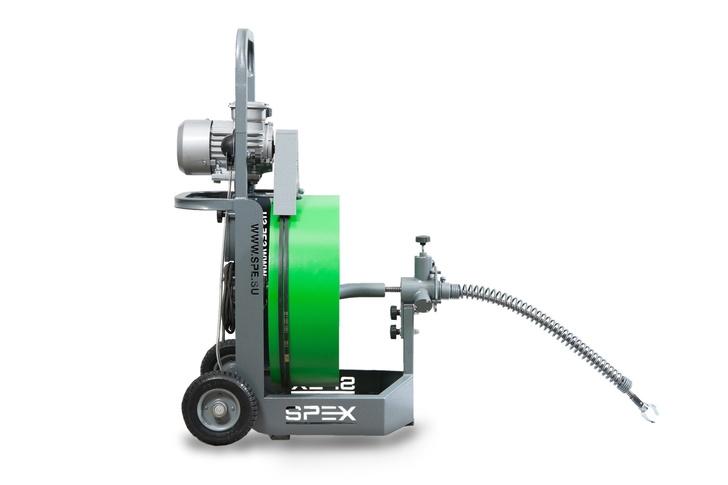 Прочистной аппарат SPEX MAXIS вид сбоку