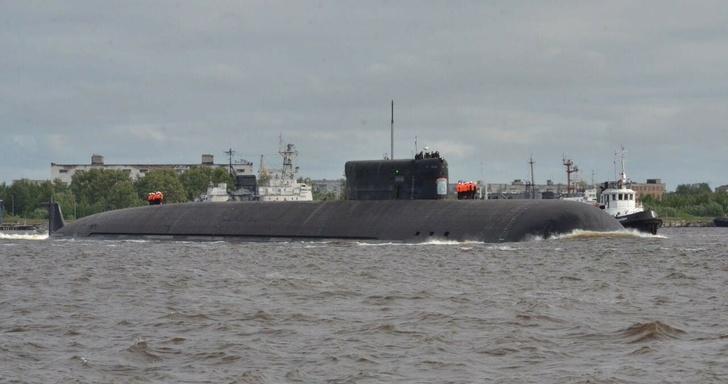 """Первый носитель """"Посейдонов"""" - самая большая в мире АПЛ К-329 """"Белгород"""" вышла на ходовые испытания"""