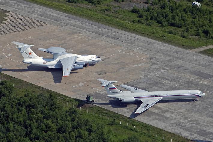А-50 и Ил-62М