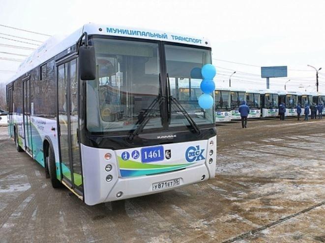 Новые автобусы НЕФАЗ поставлены в Омск