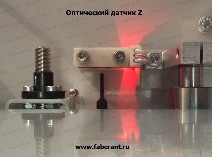 Печатный стол 3D-принтера Faberant Cube сверху