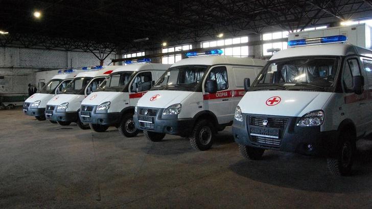 В Костромскую область поступило пять новых машин скорой помощи