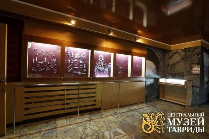 Самый крупный музей Крыма.