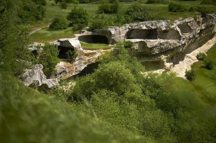 Самое северное пещерное городище Крыма.