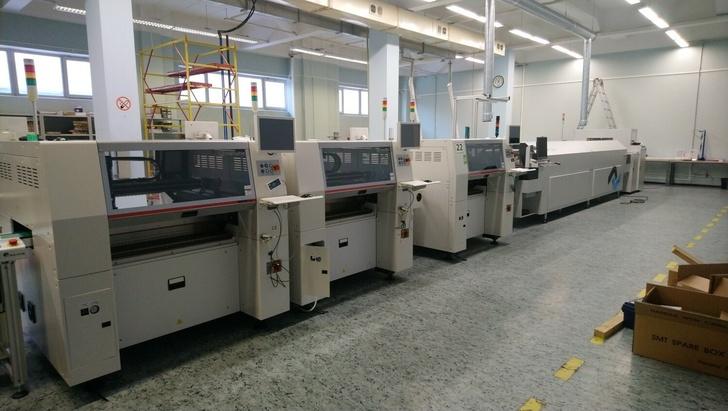 Автоматизированная линия монтажа печатных плат