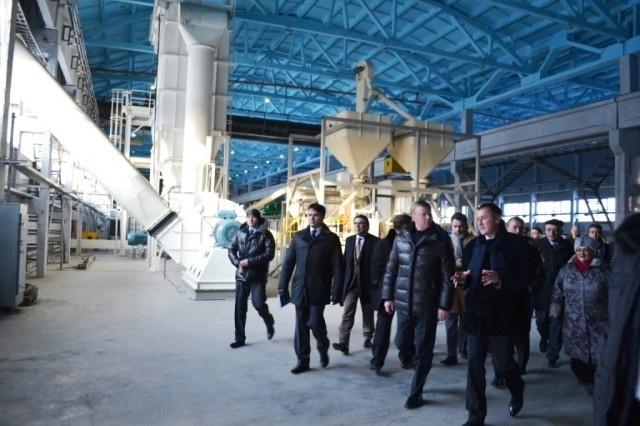 открытие завода МЕТАКЛЭЙ (февраль 2012 г.)