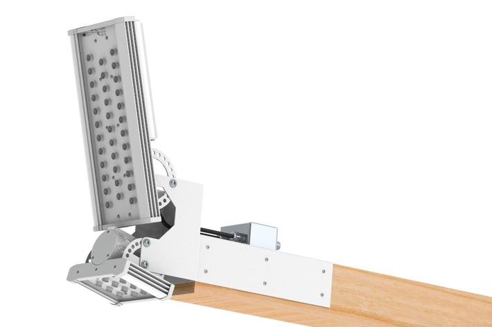 Специальный ригельный светодиодный светильник для РЖД