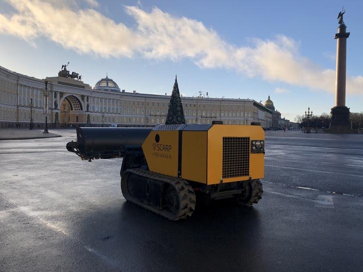 Многофункциональные гусеничные машины SCARP на радиоуправлении из Санкт-Петербурга