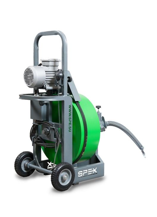 Прочистной аппарат SPEX MAXIS вид сзади