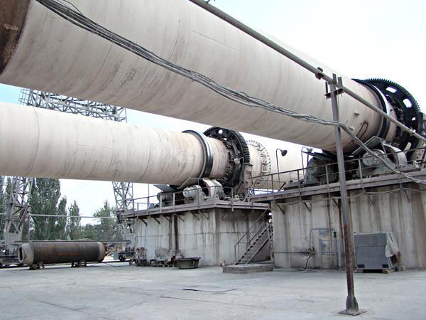 Технологическая линия по производству цемента на бахчисарайском комбинате