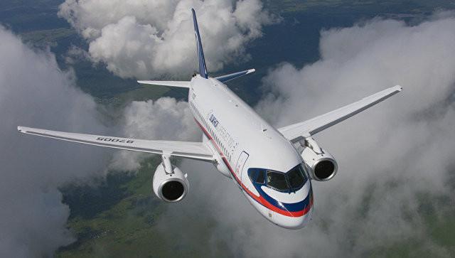 """Новый SSJ100 пополнил парк самолетов авиакомпании """"Якутия"""""""