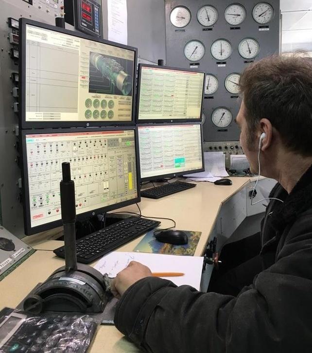 АСУТП-И стенда У-2353-М испытания авиадвигателя