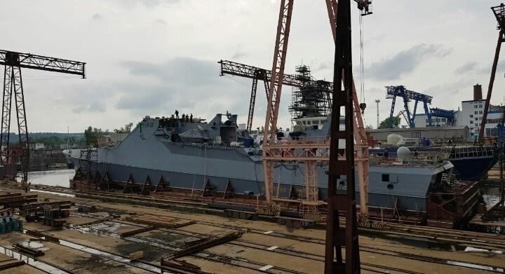 Строительство патрульного корабля проекта 22160 «Дмитрий Рогачёв» на Зеленодольском СЗ