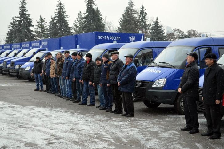 Липецкий и Карельский филиалы Почты России получили новые автомобили российского производства