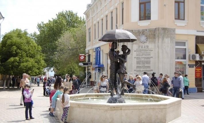 На музейной площади Феодосии открыли Фонтан Любви