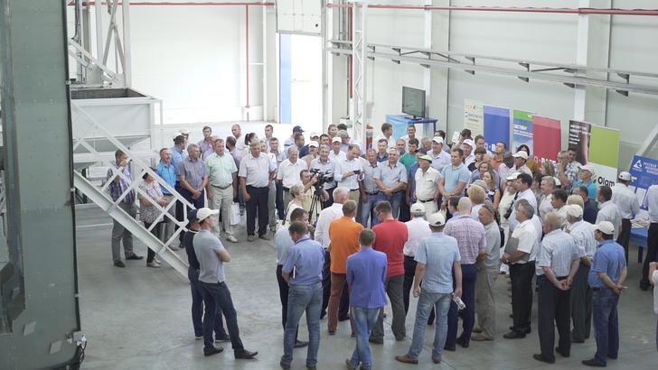 семенной завод «Русмолко» в Башмаковском районе Пензенской области