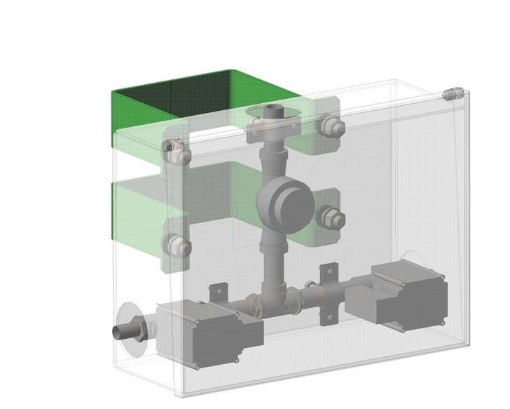 Устройство автоматической подачи и распределения воды
