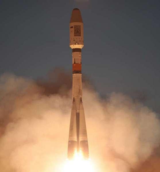 Пуск РН «Союз-2.1б» с РБ «Фрегат», КА «Метеор-М» № 2 и шестью малыми КА «МКА-ФКИ», «SkySat-2», «DX-1», «TechDemoSat-1», «UKube-1», «AISSAT-2». 08.07.2014