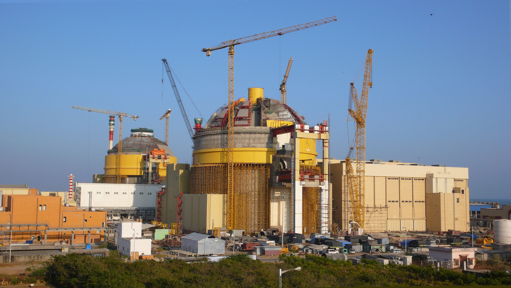 АЭС Куданкулам - проект ВВЭР-1000. выбор подрядчиков для сооружения АЭС до...