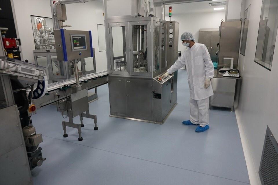 На строящемся в Московской области биотехнологическом комплексе запущена  первая линия 27e3c0ae876