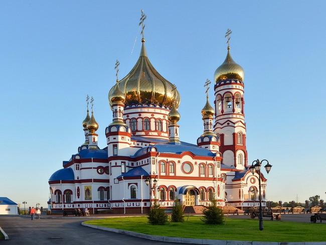 Храм Георгия Победоносца Хутор Лихой мкр Лиховской