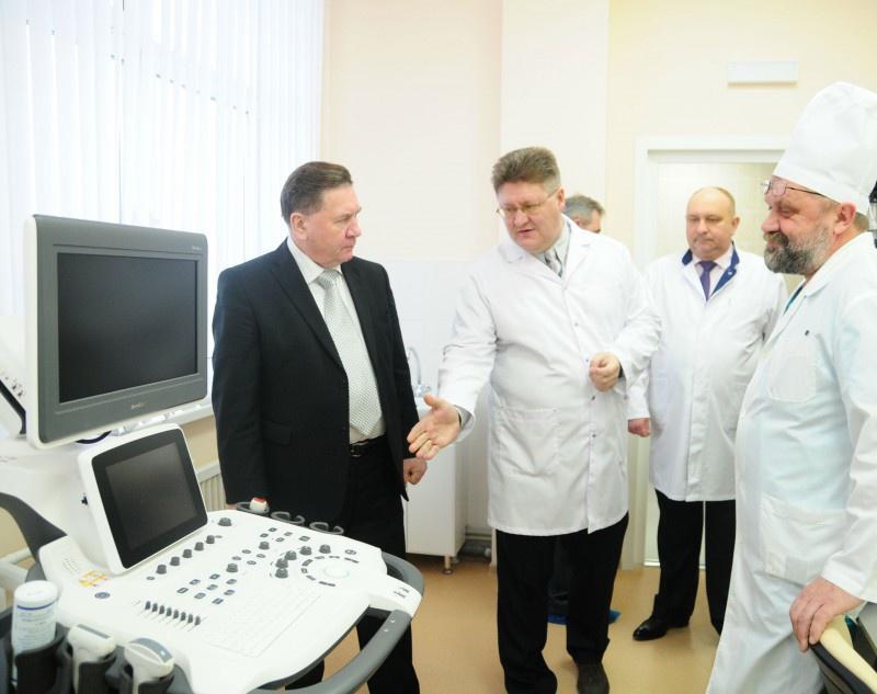 Путин в детской больнице