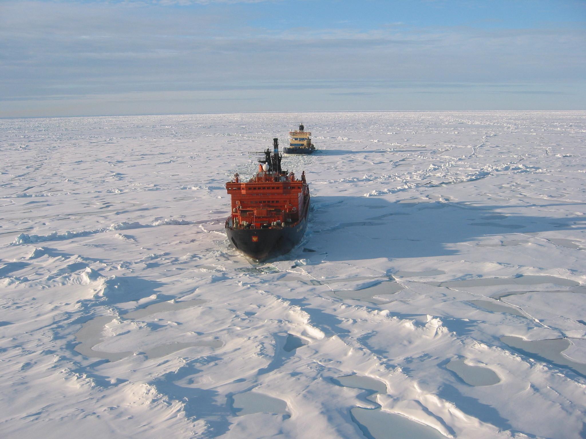 За год ледоколы провели по Севморпути 410 судов