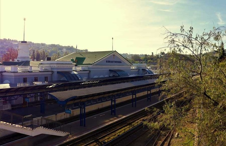 Севастополь ждёт поезда