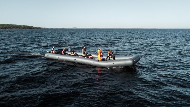 В России построили самую большую надувную лодку в мире