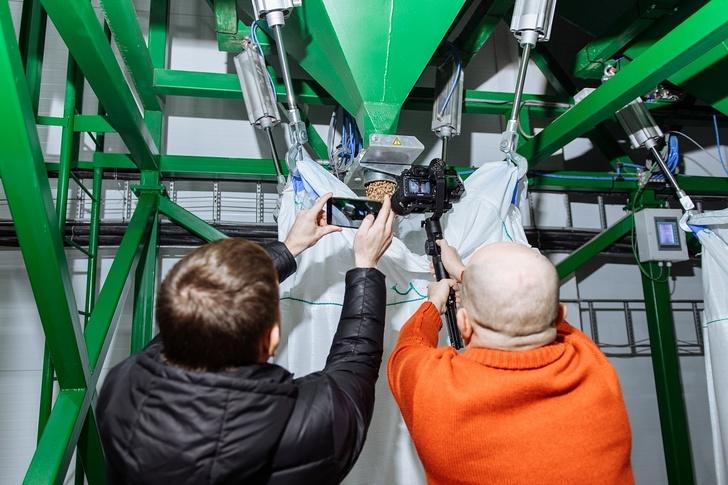 В Красноярском крае запущен цех по производству топливных гранул из отходов лесопереработки