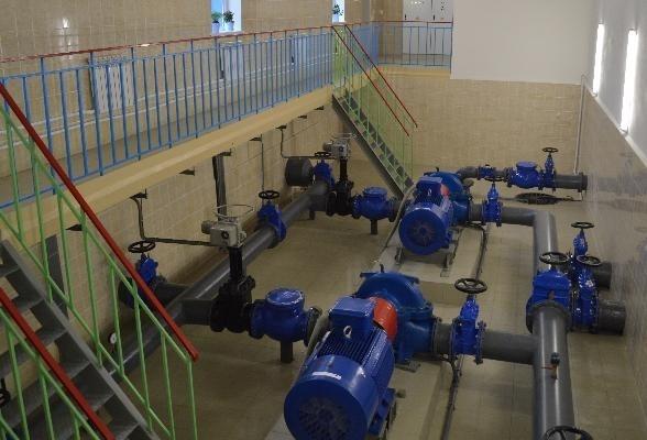Завершена модернизация технологического оборудования водозаборного узла №8