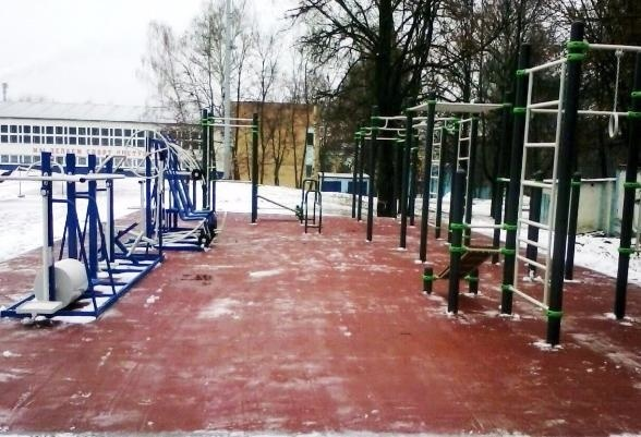 Новая воркаут площадка появилась в Серпухове