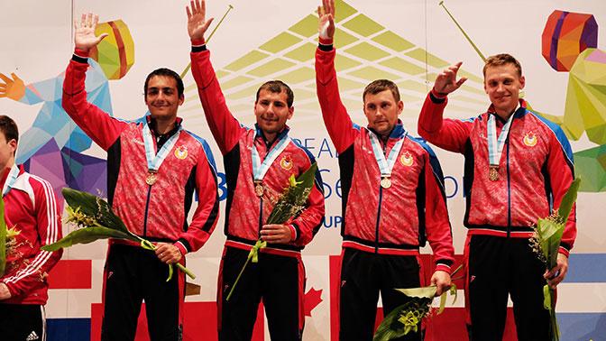 Игорь Турчин взял золото на чемпионате мира среди военнослужащих
