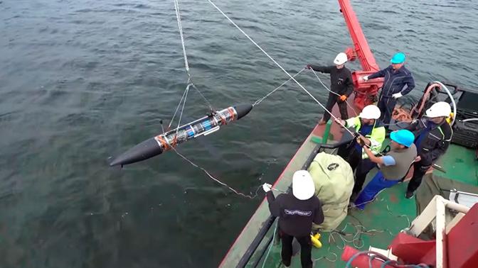 Испытания подводного робота «Морская тень» завершены на Балтике