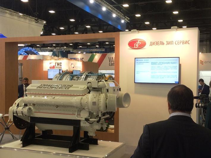 Дизельный двигатель ТМ-600 на ПМГФ-2016