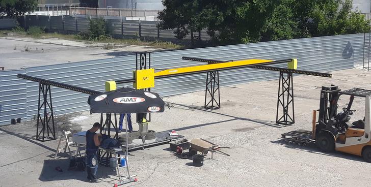 «АМТ-СПЕЦАВИА» поставила в Болгарию первый строительный принтер «АМТ»