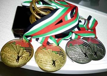 В Дубае на чемпионате мира «Mondial-2012» военнослужащая ВДВ Светлана Клёнина стала абсолютным чемпионом мира по парашютному спорту