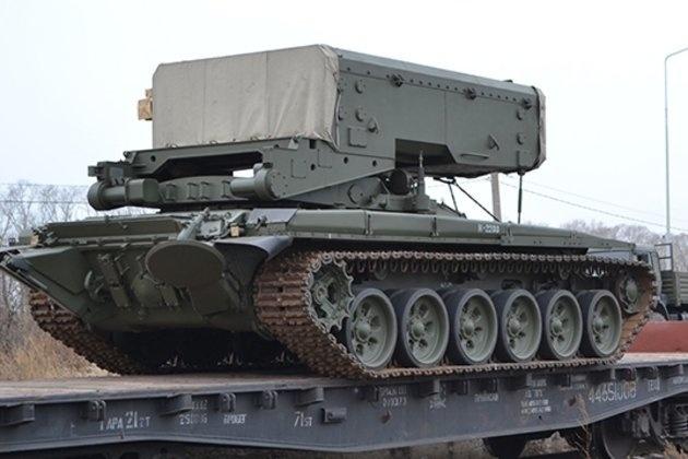 Новое подразделение РХБ защиты на Алтае вооружили тяжелыми огнеметными системами «Солнцепек»
