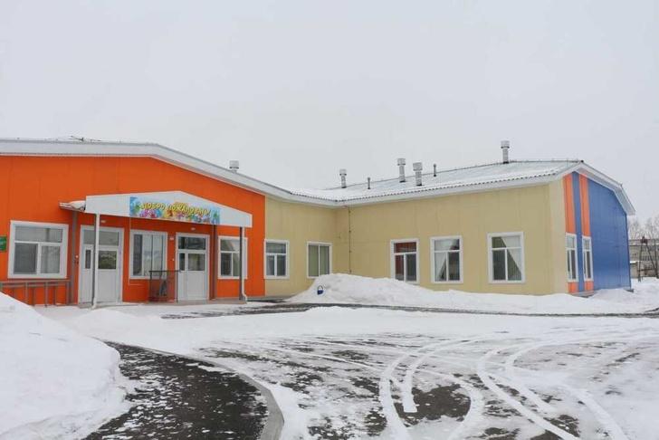 В Ермаковском открылся новый детский сад