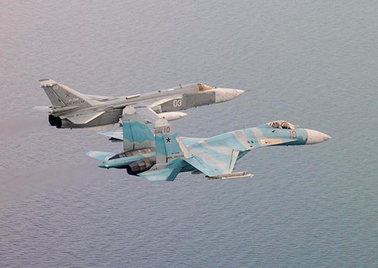 Авиация БФ обеспечила завершающий этап госиспытаний МРК «Мытищи».