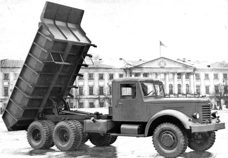 ЯАЗ-210 Ярославский автомобильный завод