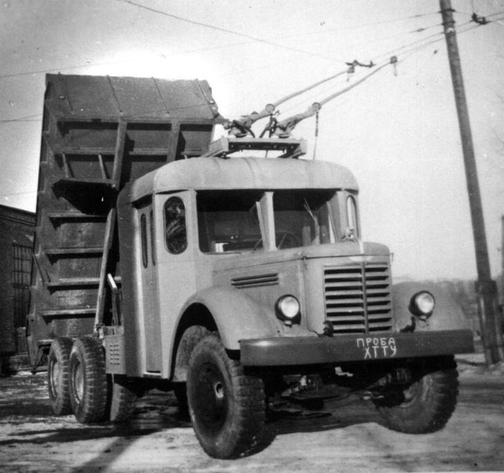ЯАЗ-210 Ярославский автозавод