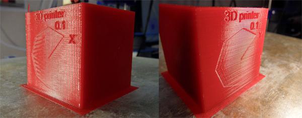 Печать с точностью 0.1 мм