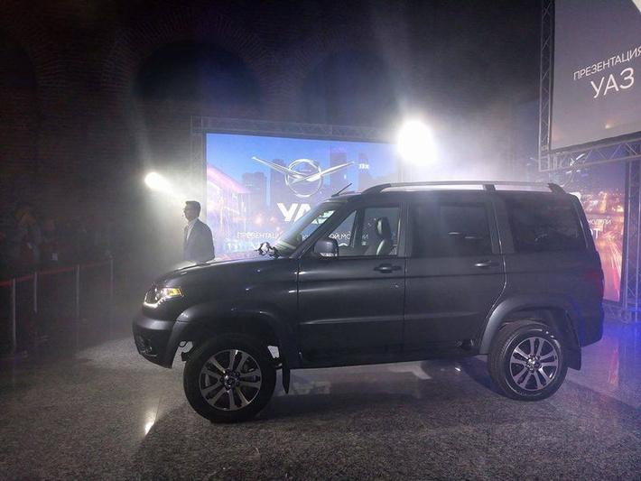 В Москве представлен обновленный УАЗ Патриот