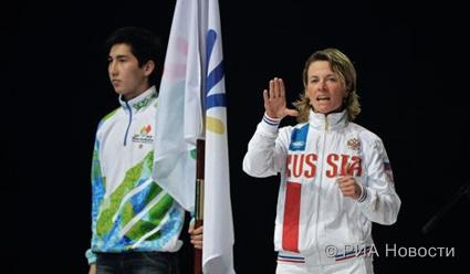 Анна Федулова выиграла первое золото на Сурдлимпиаде-2015