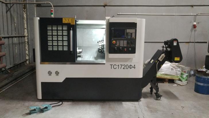 ТС1720Ф4 токарный обрабатывающий центр с ЧПУ